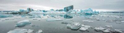 Fototapeta Jokulsarlon, lodowiec laguny, Islandia