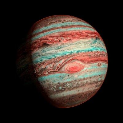 Fototapeta Jowisz planeta izolowane