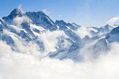 Fototapeta Jungfraujoch górski krajobraz Alp