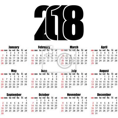 kalendarz tydzień roku