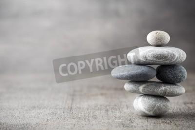 Fototapeta Kamienie spa