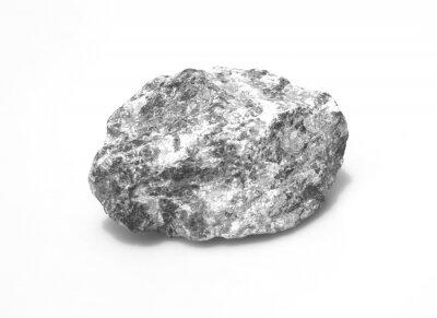 Fototapeta Kamienie wyizolowanych na bia? Ym tle