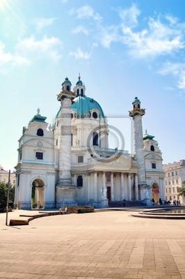 Karlskirche w Wiedniu, Austria