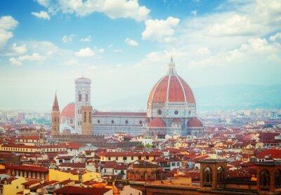 Fototapeta katedra Santa Maria del Fiore, Florencja, Włochy