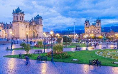 Fototapeta Katedra w Cusco, Peru