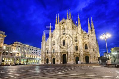 Fototapeta Katedra w Mediolanie, Włochy