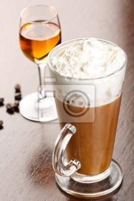 Fototapeta kawa z amaretto