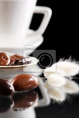 Fototapeta kawa z kropli