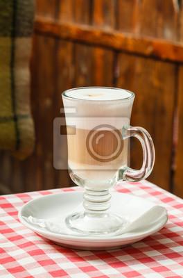 Fototapeta kawy macchiato