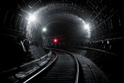 Fototapeta Kijów metra tunelu