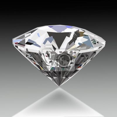 b87e5953f17437 Klejnot w tle. kamień szlachetny. diament Fototapeta • Fototapety ...