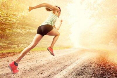 Fototapeta Kobieta Runner
