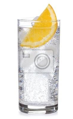 Fototapeta koktajl z gin i pomarańczy