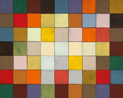 Fototapeta Kolaż abstrakcyjne malowane