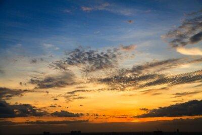 Fototapeta Kolor zmierzchu niebo