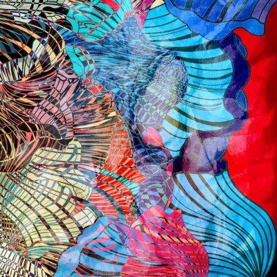 Fototapeta kolorowe abstrakcyjne tło