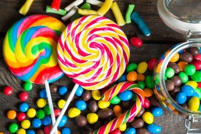 Fototapeta Kolorowe cukierki