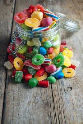 Fototapeta Kolorowe cukierki gumy