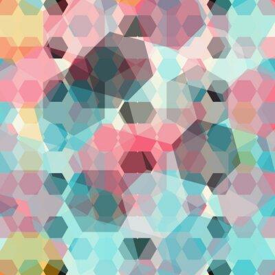 Fototapeta kolorowe geometryczne tle