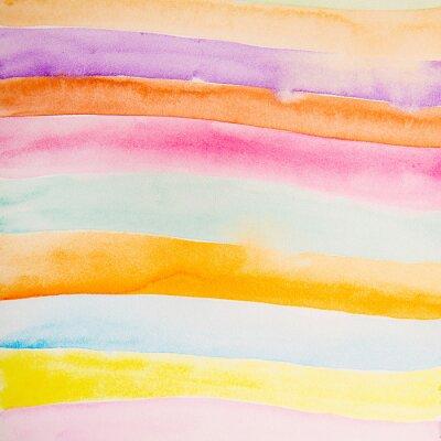 Fototapeta kolorowe paski kolor wody