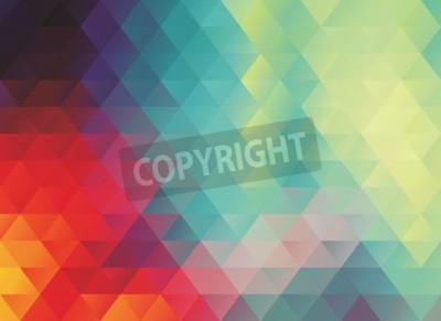 Fototapeta Kolorowe polygonal streszczenie wektora lub tekstury t? A