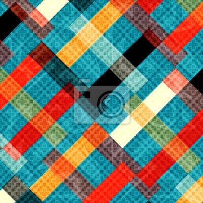 Fototapeta kolorowe wielokąty abstrakcyjne geometryczne tle ilustracji wektorowych