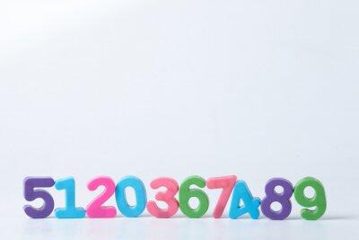 Fototapeta Kolorowe Wybrane Numery
