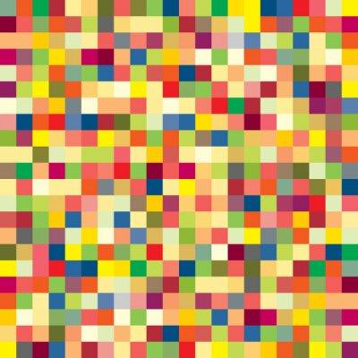 Fototapeta Kolorowy wzór na piksel
