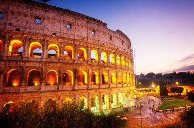 Fototapeta Koloseum w Rzymie, Włochy