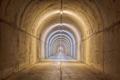 Fototapeta Kompletne Tunnel