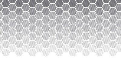 Fototapeta Koncepcja geometrii z linii. geometryczne degradować gradient motyw dla nagłówka, plakat, tło.