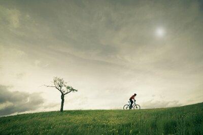 Fototapeta koncepcja vélo