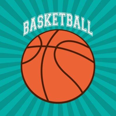 Fototapeta Konstrukcja do koszykówki Sport