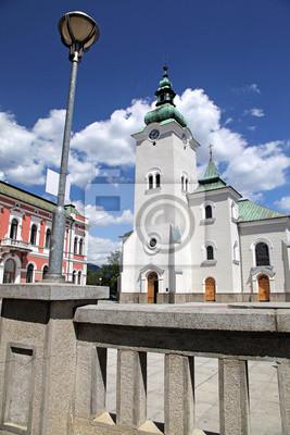 Kościół rzymskokatolicki w miejscowości Ružomberok, Słowacja