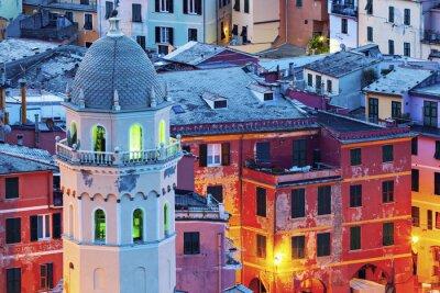 Fototapeta Kościół Santa Margherita d'Antiochia w Vernazza