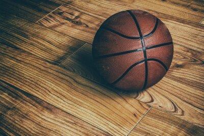 Fototapeta Koszykówka na Hardwood 1