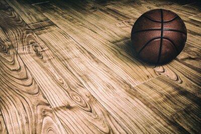 Fototapeta Koszykówka na Hardwood 2