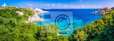 Fototapeta Krajobraz Capo Testa, Sardynia, Włochy