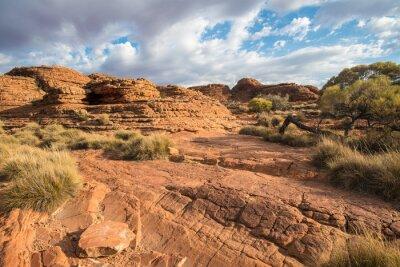 Fototapeta Krajobraz kanionu królów w Terytorium Północnym w Australii.