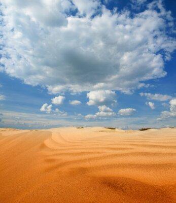 Fototapeta Krajobraz pustyni piasku