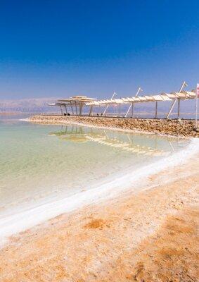 Fototapeta Krajobraz z Morza Martwego