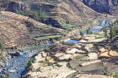 Fototapeta krajobrazu w Andach. Peru.