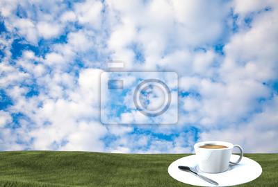 Fototapeta Kubek z białym tle