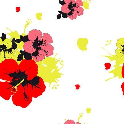Fototapeta kwiatów projektowania