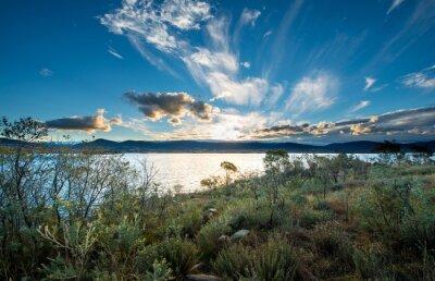 Fototapeta Lake Jindabyne w NSW.