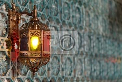 Fototapeta Lampa w stylu vintage