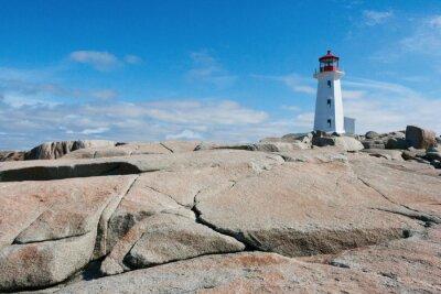 Fototapeta Latarnia morska w Peggy Cove