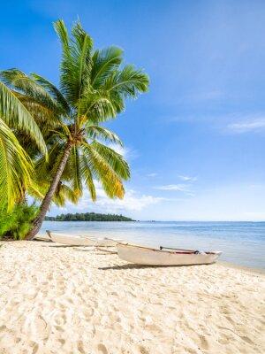 Fototapeta Lato, słońce, plaża i morze w