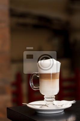 Fototapeta Latte macchiato