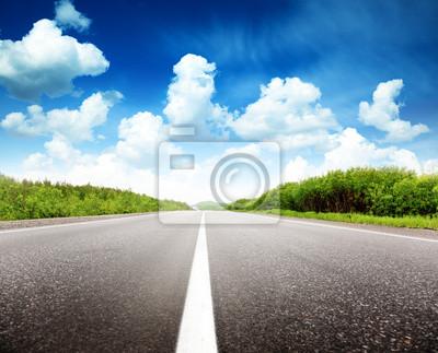 letni dzień i drogowych